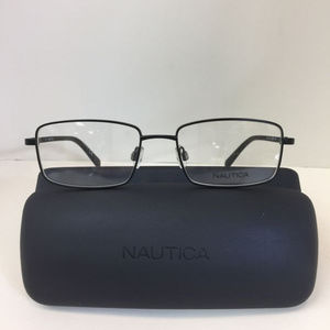 Nautica N 7275 005 Matte Black Eyeglasses